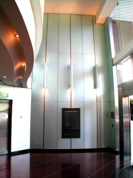 Foyer Ceiling Joints : Fitout sydney building projects