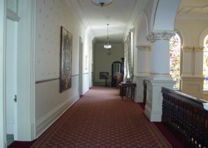 Admiralty House corridor