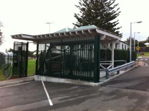 HMAS Watson LHS Rolling Gate