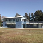Newly built Colleagues Rugby Clubhouse at Rose Bay