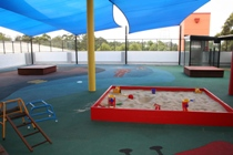 Butterflies Childcare Centre covered play area