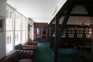 Shore School Common room and display area
