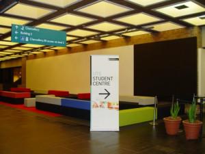 UTS Main Entrance after refurbishment