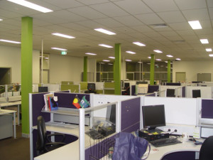 Oxfam HO workstations and office fitout