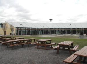 RAS Southee Pavilion exterior