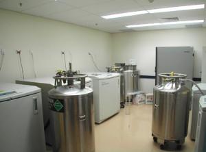 POW Blood Bank Cryogenic Storage