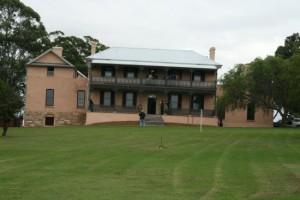Brush Farm House front exterior
