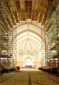 Renovations to Cerretti Memorial Chapel