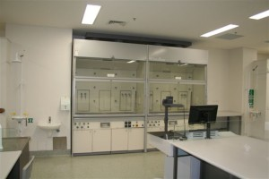 UTS Lab Refurbishment with new lab joinery and fume cupboards